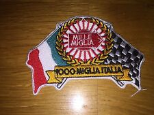 1000 MILLE MIGLIA ITALIA ARROW RALLY FERRARI LOTUS FIAT ITALY RACING PATCH