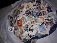 1000 Stamps From Hoard Of Millions Stamps off paper Australian Collection Lot