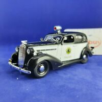Buick Special 1936 Year Сalifornia State Police 1/43 Scale Diecast Model Car