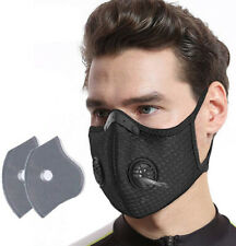 Outdoor Riding Face Masks Air Purifying PM2.5 Filter Sport Face Cover