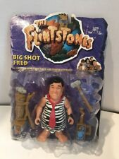 The Flistones Big Shot Fred Figure 11655 Mattel 1993
