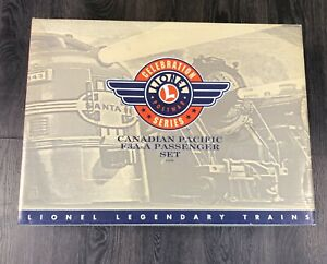 Lionel #21759 Post War Celebration Canadian Pacific F3A-A W/4 Passenger set Used