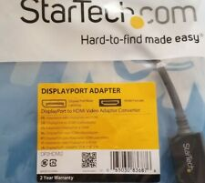 STARTECH.COM DP2HDMI2 DisplayPort to HDMI Video Converter