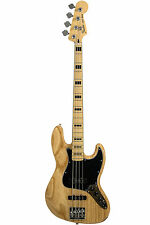 Fender Deluxe Active Jazz Bass article retourné-Nature