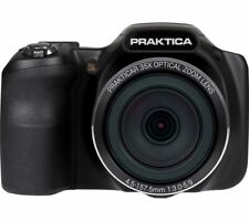 "PRAKTICA Luxmedia Z35-BK 16MP 35x Optical Zoom 3"" LCD Bridge Camera - Black"