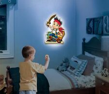Jake & The Neverland Pirates Talking Wall Friends - Remote Control Night Light
