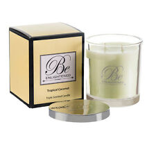 New candle Tropical Coconut Triple Scented Candle 400g by Be Enlightened