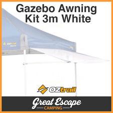 OZtrail Gazebo Removable Awning Kit White 3m
