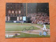 Cal Ripken Jr Signed 2131 Consecutive Game 8x10 Photo MLB & Ripken Hologram-Mint