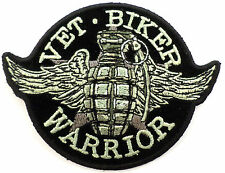 Grenade Vet Biker Warrior Motorcycle Uniform Patch Biker #21053