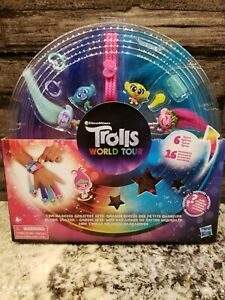 DreamWorks Trolls Tiny Dancers Greatest Hits, Toy with 6 Collector Figures-NEW