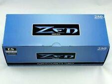 Zen Blue (Light) King Size Cigarette Tubes 250 Count Box