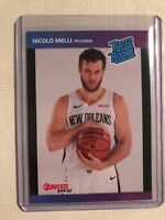 2019/20 Panini Instant 1989 Donruss Rated Rookie RC Nicolo Melli Card