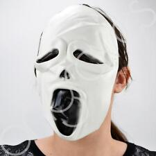 Evil Scary Scream Ghost Adult Halloween Latex Mask Fancy Dress Costume