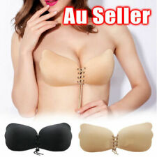 Self Adhesive Silicone Push Up Backless Invisible Bras Strapless Lady Women Bra