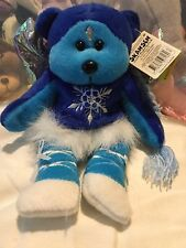 "Skansen Beanie Kids ""Blizzard"" The Ice Fairy Bear RETIRED BK326"