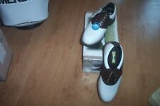 BRAND NEW Dunlop golf shoes Leather Saddle size 8.5