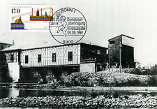 Tarjeta maximum Mk 1991 federal NR: 1557 100 años de transmisión de energía electricidad mk100
