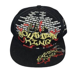 Hip Hop Southern King Hat Fitted Sz L Cap Hats Plain Flat Hat Leader Sports Cap