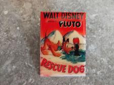 DISNEY DLRP MOVIE POSTER PIN PLUTO RESCUE DOG
