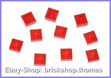 Lego 2 x Platte Griff grau 3839b Plate Handles 1x2 Light Bluish Gray NEU NEW