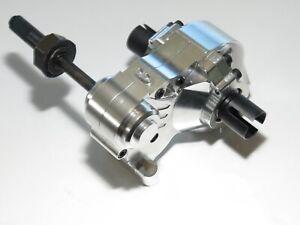 Yy-Hpi Baja Rovan Km Résistant Aluminium Differentel Transmission 5T/5B Argent