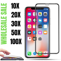 Wholesale Screen Protector Full Coverage Tempered Glass For iPhone 12 11 X XR XS