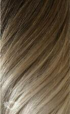 """Foxy Locks Superior 22"""" Clip In Human Hair Extensions 230g Vanilla Frappe Ombre"""