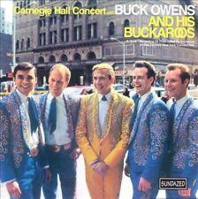 The Carnegie Hall Concert by Buck Owens (CD, Nov-2000, Sundazed)