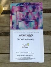 Galaxy kids Beeswax Wraps | STARTER PACK OF 4| Eco Friendly | Australian made
