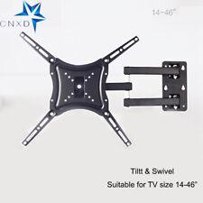 """Tilt Swivel TV Wall Mount Stand Holder for 14 22 26 40 42 46"""" Flat LED LCD TV"""