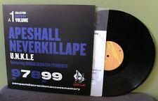 "Unkle ""Ape Shall Never Kill Ape"" 12"" NM Mo Wax Nigo DJ Krush Shadow Japan"