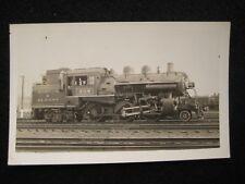 Boston & Albany Locomotive #308 Allston MA 1931 RPPC Postcard by W. Monypeny