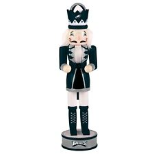 "Philadelphia Eagles Nutcracker 14"" Table Top Team Logo Christmas Holiday Decor"