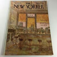 VTG The New Yorker Magazine: April 28 1975 - Full Theme Cover by James Stevenson