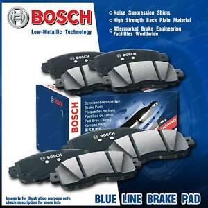 8 Pcs Bosch Front + Rear Disc Brake Pads for Audi Q7 4L 3.0L 4.2L TDI SUV