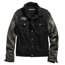 Harley-Davidson Leather Sleeve Canvas Jacket 99183-19VM/000M