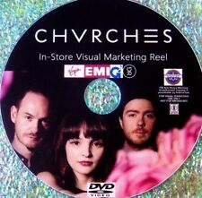 CHVRCHES In-Store Visual Marketing Reel DVD includes 21 Music Videos 2013-2017