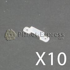 10 x Klammer befestigung clip 10 mm für Streifen led 5050 3528 SMD fix