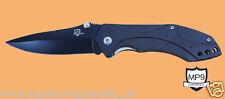 MP9 Black Swing Messer Taschenmesser Einhandmesser mit Aluminumgriffschalen 7920