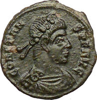 CONSTANS Gay Emperor Constantine the Great son Roman Coin Two Victories i29225
