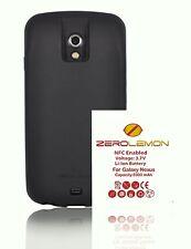 ZeroLemon Samsung Galaxy Nexus 5900mah Extended Battery+Black TPU Full Edge Case
