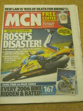 MCN - MOTORCYCLE NEWS - ROSSI'S DISASTER - 29 March 2006