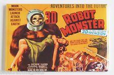 Robot Monster FRIDGE MAGNET (2.5 x 3.5 inches) movie poster gorilla