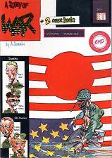 STORY OF WAR (SEVERIN) EDITIONS MICHEL DELIGNE 1985 RARE TBE