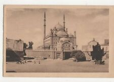 Cairo Mosque of Mohammed Ali Egypt Vintage Postcard 139a