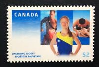 Canada #2282iii Die Cut MNH, Lifesaving Society Centennial Stamp 2008