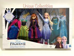 Disney Frozen II (Frozen 2) Elsa & Anna Doll Fashion Set Brand New Free Shipping