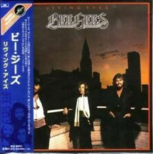 BEE GEES - LIVING EYES ( MINI LP AUDIO CD with OBI and booklet ) FREE SHIPPING