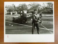 Vintage Glossy Press Photo Natick MA Accident Scene Car Flipped Over 11/12/91